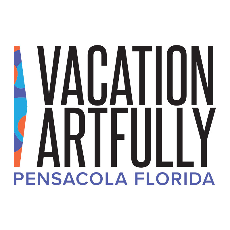 Vacation Artfully Pensacola Florida logo
